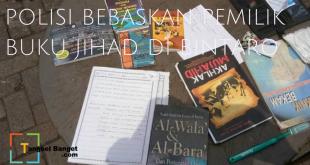 Polisi Bebaskan Pemilik Buku Jihad di Bintaro Plaza