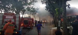 Toko Bunga di Bintaro Habis di Lahap Api