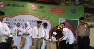 Ribuan Mushaf Alquran di Wakaf Oleh Wali Kota Tangsel