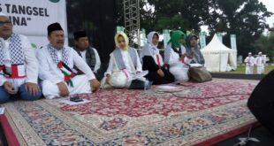 Aksi Bela Palestina di Kota Tangerang Selatan