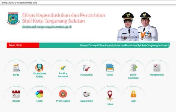 Disdukcapil Tangerang Selatan