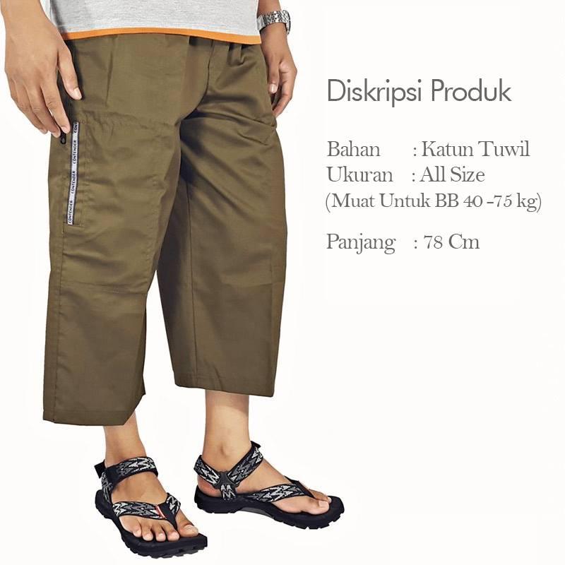 Celana Sunah Tetap Trendi
