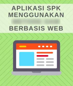 Download Aplikasi Sistem Penunjang Keputusan Berbasis Web
